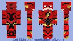 Justice League : The Flash Minecraft Skin