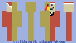 christmas represented by a minecraft skin Minecraft Skin