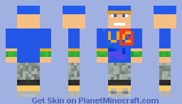 john cena 2017 Minecraft Skin