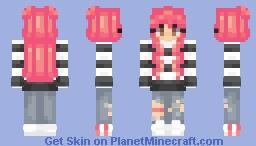 Neon Gaze Minecraft Skin