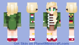 edgy military child™ Minecraft Skin