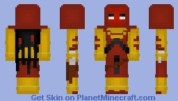 Azrael (Jean Paul Valley), DC Comics Minecraft Skin
