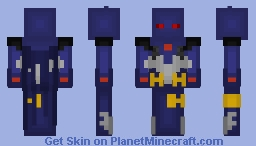 Knightfall Batman (Azbat) Suit, DC Comics Minecraft Skin