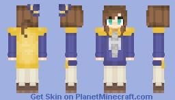 Hat Kid - A Hat In Time Minecraft Skin