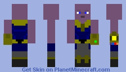 Avengers Infinity War: Thanos The Mad Titan Skin Minecraft Skin