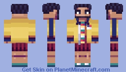 Supreme SS 17 9/28 Minecraft Skin