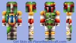 Boba Fett - Star Wars (New Version) Alt. in Desc. Minecraft Skin