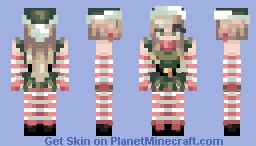 Me as a Christmas Elf Minecraft Skin