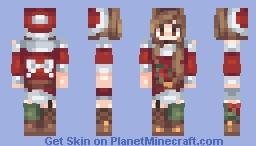 santa day ~𝑔𝒾𝑜𝓈𝒽𝑒𝑒𝓅 Minecraft Skin