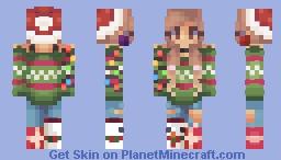 Decorating The Christmas Tree l Қíოíєs l ♡ Minecraft Skin