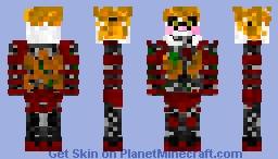 Scrap Baby PIzzeria Simulator Minecraft Skin