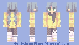 蜜蜂…蜂蜜! Minecraft Skin