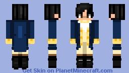 Alexander Hamilton - Act 1 Minecraft Skin