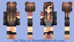 bandana. Minecraft Skin