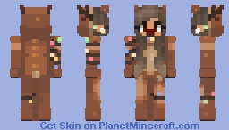 Reindeer Girl (holiday) Minecraft Skin
