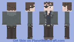 The Governor / Philip Blake | The Walking Dead | Too Far Gone Minecraft Skin