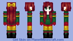 Christmas Time With You ❤️ ~ PlantyBox Minecraft Skin