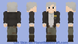 Han Solo(The Force Awakens) Minecraft Skin