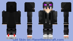 Ender Hoodie Boy (Requested) Minecraft Skin