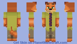 Inieloo | Nick Wilde - Zootopia ~requested~ Minecraft Skin