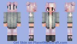 ᴵ ᴹᵃʸ ᵇᵉ ˢˡᵉᵉᵖ ᴰᵉᵖʳⁱᵛᵉᵈ ᵇᵘᵗ ᵃᵗ ᴸᵉᵃˢᵗ ᴹʸ ᴴᵃⁱʳ ᴸᵒᵒᵏˢ ᴺⁱᶜᵉ Minecraft Skin