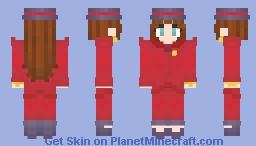 Seebass4's request : Suit Pauline [Mario Odyssey] Minecraft