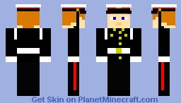 Me in the Royal Marines Formal uniform Minecraft