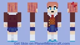 Sayori Minecraft Skin