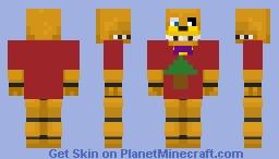 Fred Da Fredbear Minecraft Skin