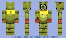 Spring Trowey Minecraft Skin