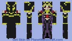 Ainz Ooal Gown Minecraft Skin