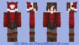 merry christmas // sorry for not posting Minecraft Skin