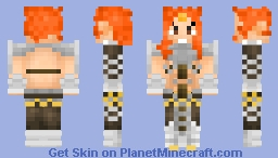 Rasho (For magichero12) Minecraft Skin