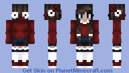 I couldn't think of a math joke | S.T. W/ Heartens Minecraft Skin