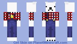 Frozenpolarbear- A request from Frozenkazoo Minecraft Skin