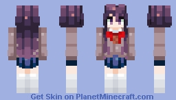 Yuri | Request | Reupload >_> Minecraft Skin