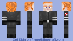 General Hux STAR WARS Minecraft Skin