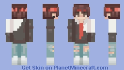 I didn't feel like it, ok? Minecraft Skin