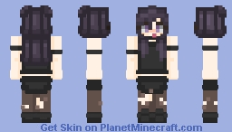 Request: Mystery Escapade Minecraft Skin