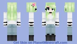 Mint Tea - Contest Entry Minecraft Skin