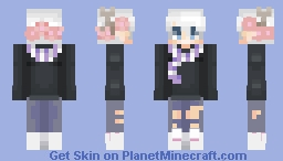Alright, I'll consider since Christmas is Near - For Abstracted Minecraft Skin