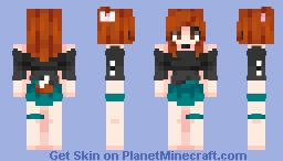 Sometimes you have to learn to forget about it  ☾ Minecraft Skin