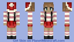 06: Pink Peppermints Minecraft Skin