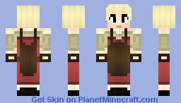 Jennifer the Blacksmith Minecraft Skin