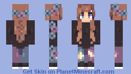 Strange Flowers // Raffle Minecraft Skin