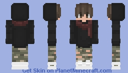 Cool Kid With Scarf Minecraft