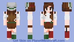 Plum Pudding {OC Pheobe/Advent Calendar} Minecraft Skin