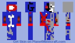 Gringosanimgus black skin Minecraft Skin