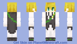 The Dragon Skin of Wrath Minecraft Skin