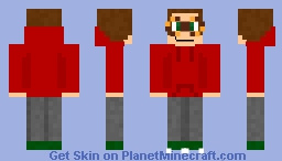 I offically have a hoodie like Tord's now :P Minecraft Skin